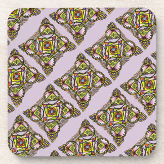 balloon mandala coaster.bohemian hippie pattern beverage coasters