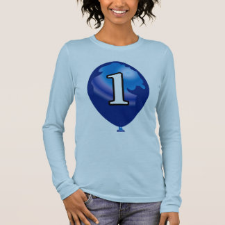 Balloon number 1 long sleeve T-Shirt