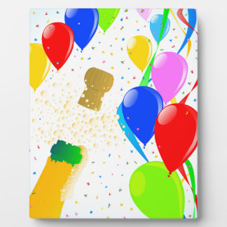 Balloon Party Plaques