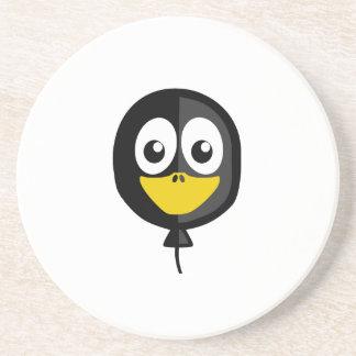 Balloon Penguin Drink Coasters