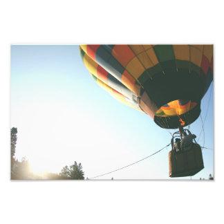 balloon photo print