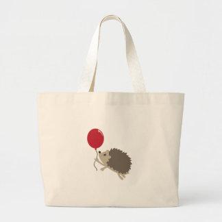 Balloon & Porcupine Canvas Bags