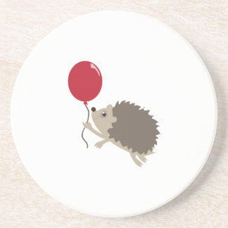 Balloon & Porcupine Beverage Coasters