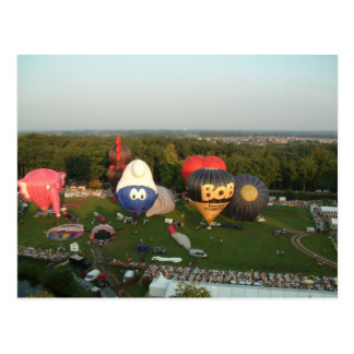 Balloon Postcard