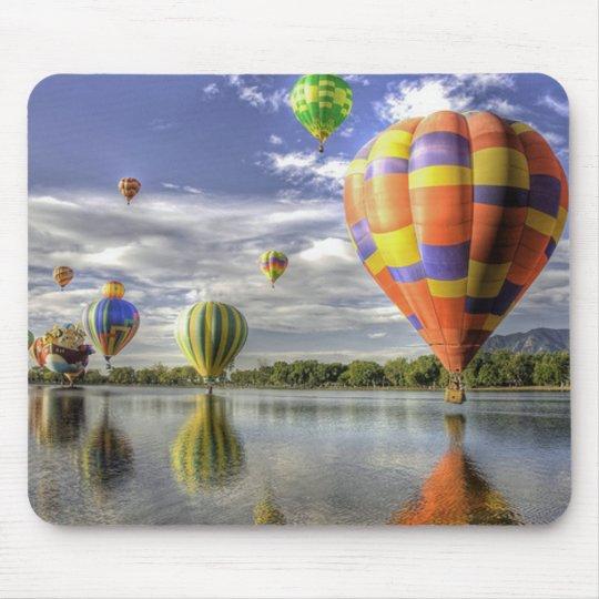 Balloon race reflections mouse mat