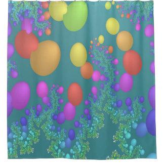 Balloon Release Shower Curtain