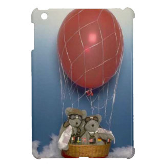 Balloon ride bears iPad mini cover