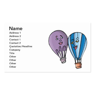Balloon Romance Double-Sided Standard Business Cards (Pack Of 100)