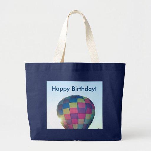 Balloon Sun burst Happy Birthday! Bag
