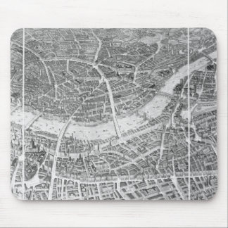 Balloon View of London, 1851 Mouse Mat
