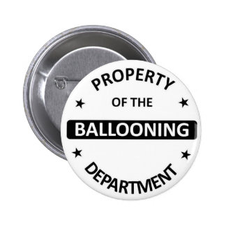 Ballooning Department Pins