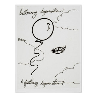 Ballooning & Feathery Degeneration print