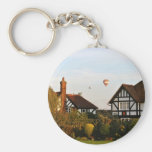 Ballooning Over Wingrave Keychains