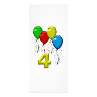 balloons 04 years rack card