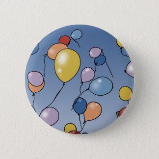 Balloons 6 Cm Round Badge