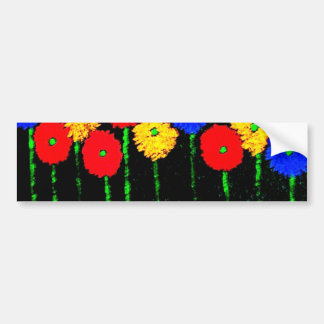 Balloons and Flowers Bumper Sticker