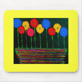 Balloons and Flowers Mouse Pad