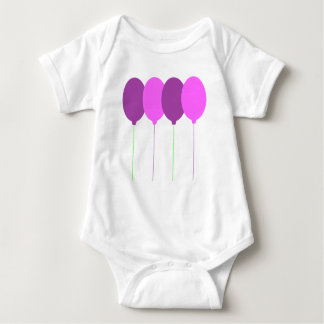 Balloons Baby Bodysuits