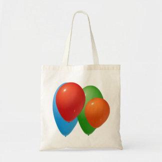 balloons budget tote bag