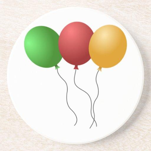 Balloons Beverage Coasters