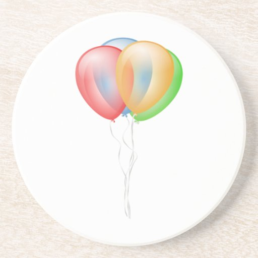 Balloons Drink Coasters