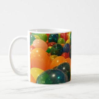 Balloons Colorful Party Design Basic White Mug