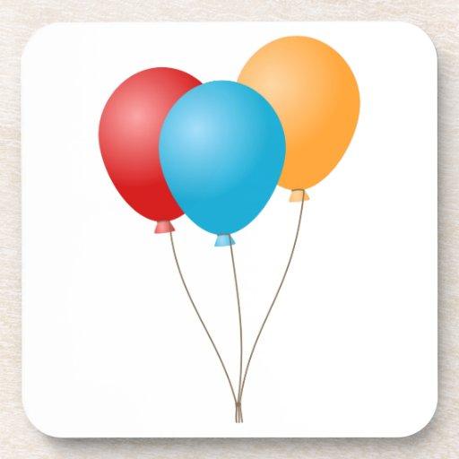 Balloons Beverage Coaster
