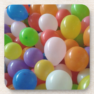 Balloons Cork Coaster Set