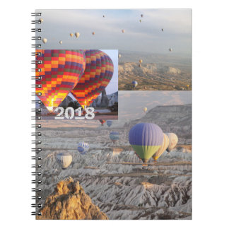Balloons flight  Photo Notebook
