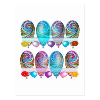 BALLOONS : For every OCCASION n on every GIFT Postcard