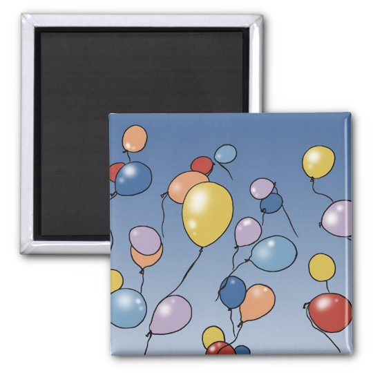 Balloons magnet