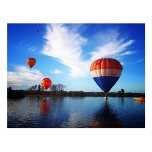 Balloons over Henley Lake Postcards