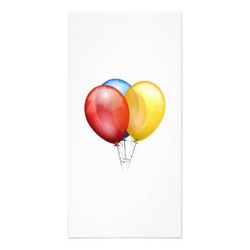 Balloons Photo Cards