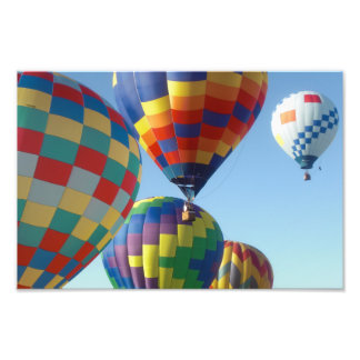 balloons photo print