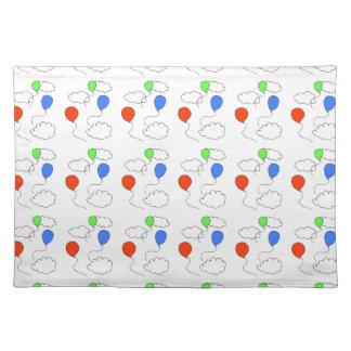 balloons placemat