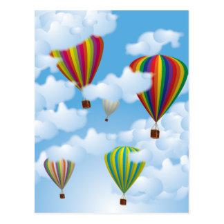 Balloons Postcards