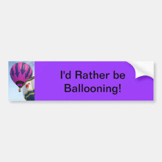Balloons!  Rooster and Arrows Car Bumper Sticker