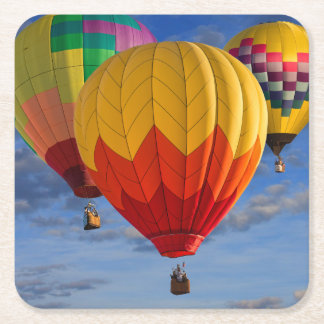 BALLOONS SQUARE PAPER COASTER