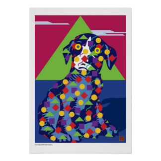 Ballou Art Dog-Print