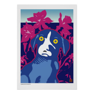 Ballou Iris Field-Print