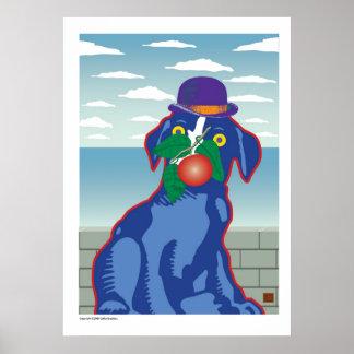 Ballou Magritte-Print