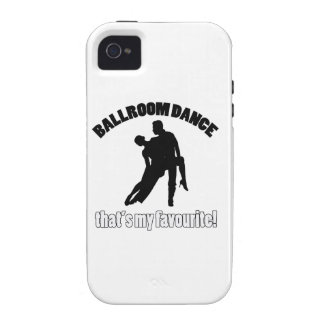 ballroom dance designs Case-Mate iPhone 4 covers