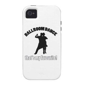 ballroom dance designs vibe iPhone 4 covers