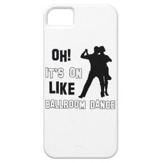 Ballroom dance designs iPhone 5 case