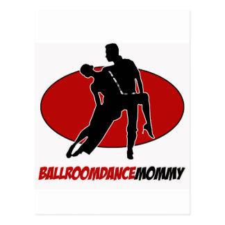 BALLROOM DANCE DESIGNS POST CARDS