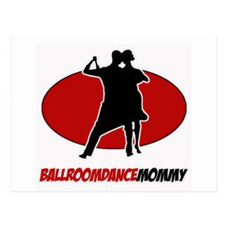 BALLROOM DANCE DESIGNS POST CARD