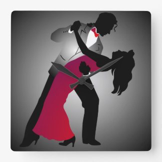 Ballroom Dancer Wall Clock