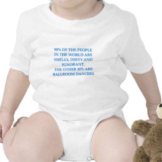 ballroom dancing baby bodysuits