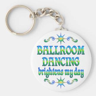 Ballroom Dancing Brightens Keychain