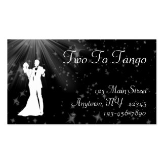 Ballroom Dancing Business Card
